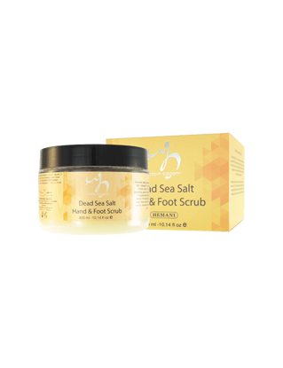 Dead Sea Salt Hand & Foot Scrub
