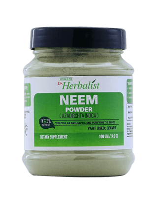 Dr. Herbalist Neem Powder 100 Gm