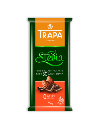 Stevia Chocolate Noir 50%