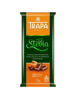 Stevia Chocolate With Almond