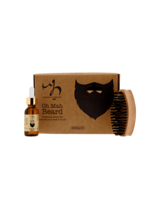 WB by Hemani Premium Beard Oil With Wooden Beard Brush