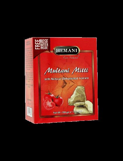 Multani Mitti with Dehydrated Tomato