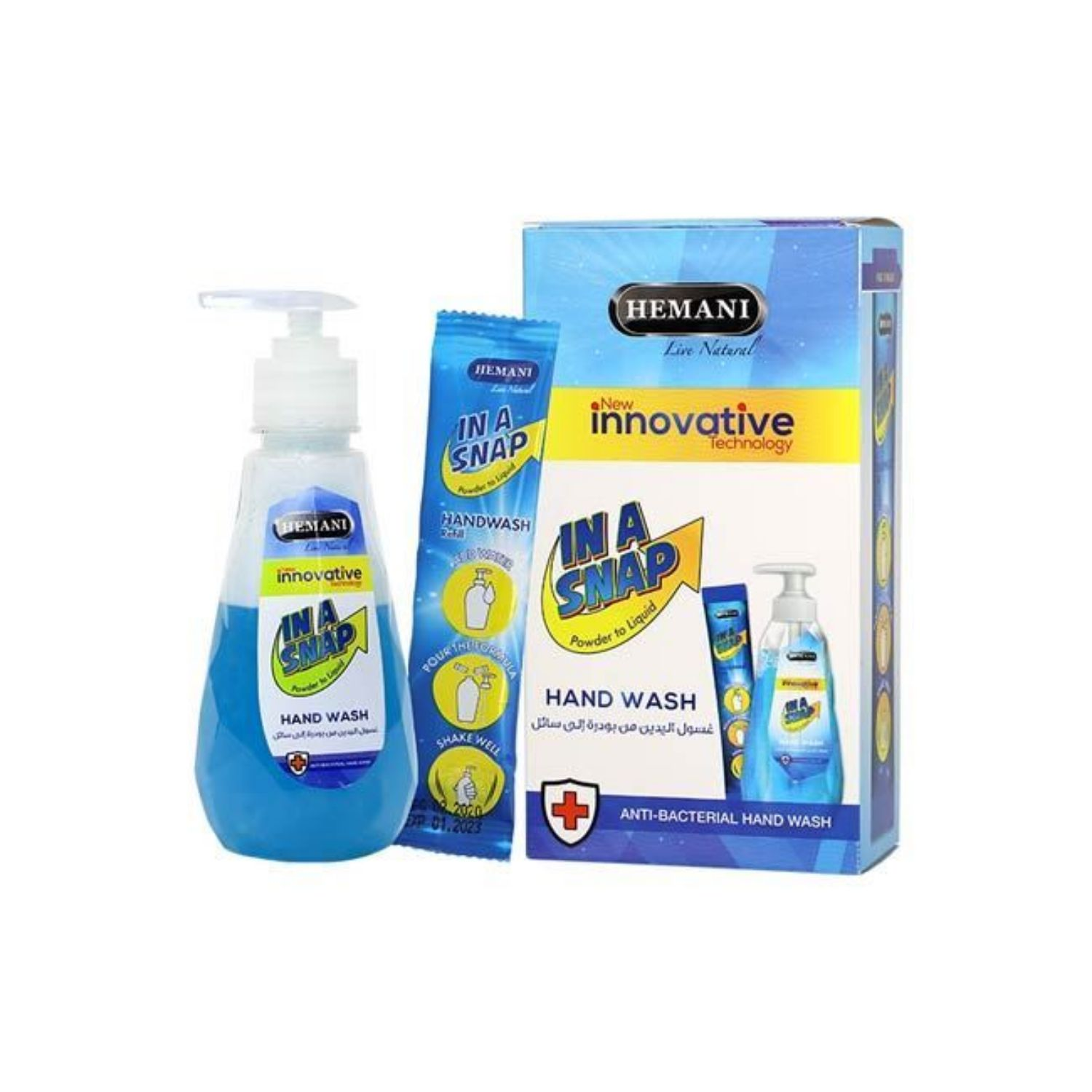 Picture of Hemani In A Snap Hand Wash