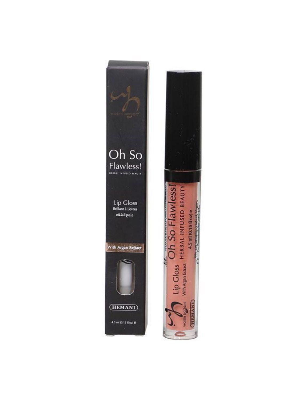herbal infused beauty lip gloss 248 flamingo