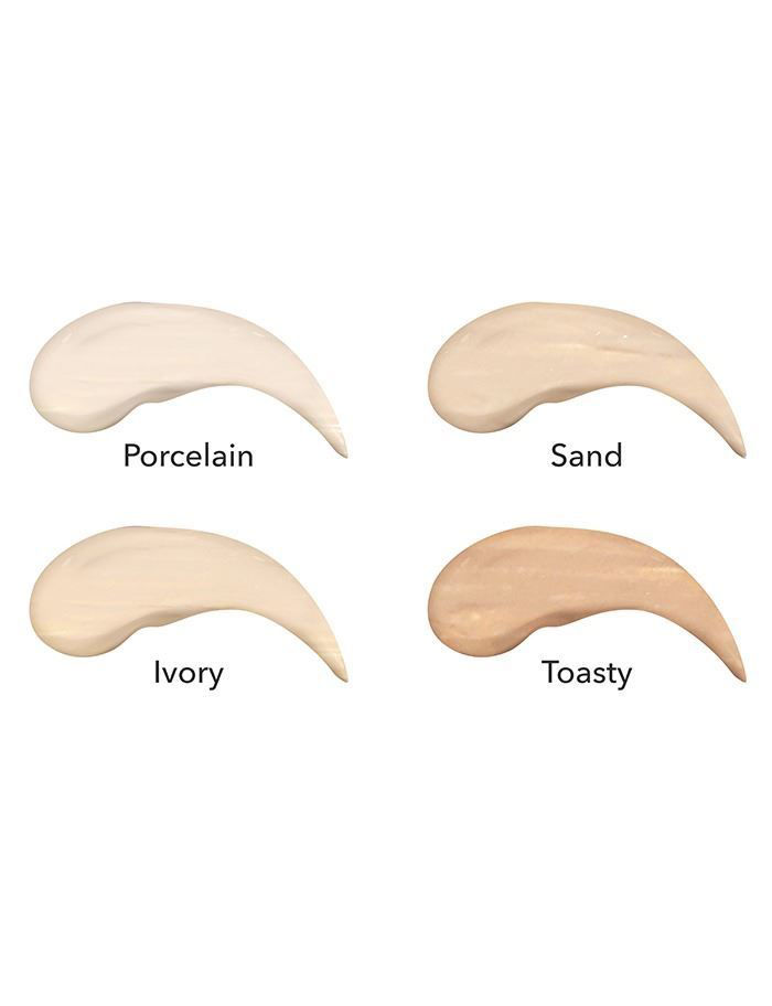 herbal infused beauty concealer swatches