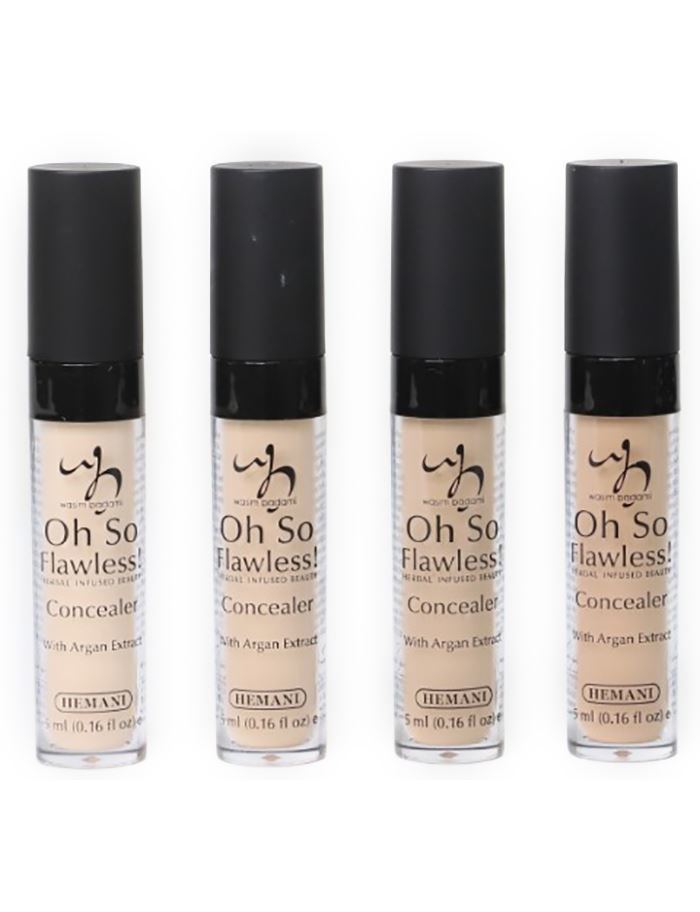 herbal infused beauty concealer grouped