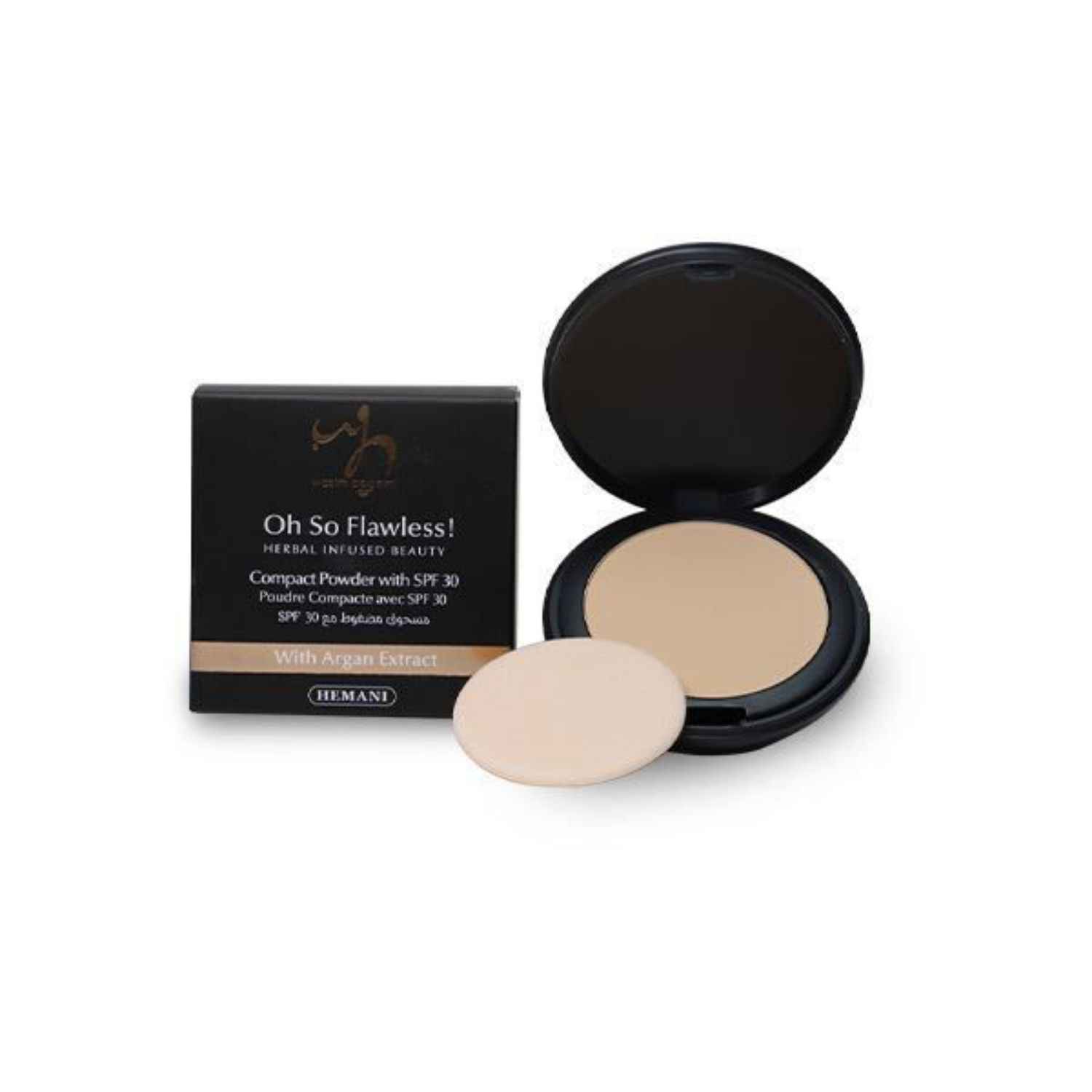 HERBAL INFUSED BEAUTY Compact Powder 229 Roasted Peanut
