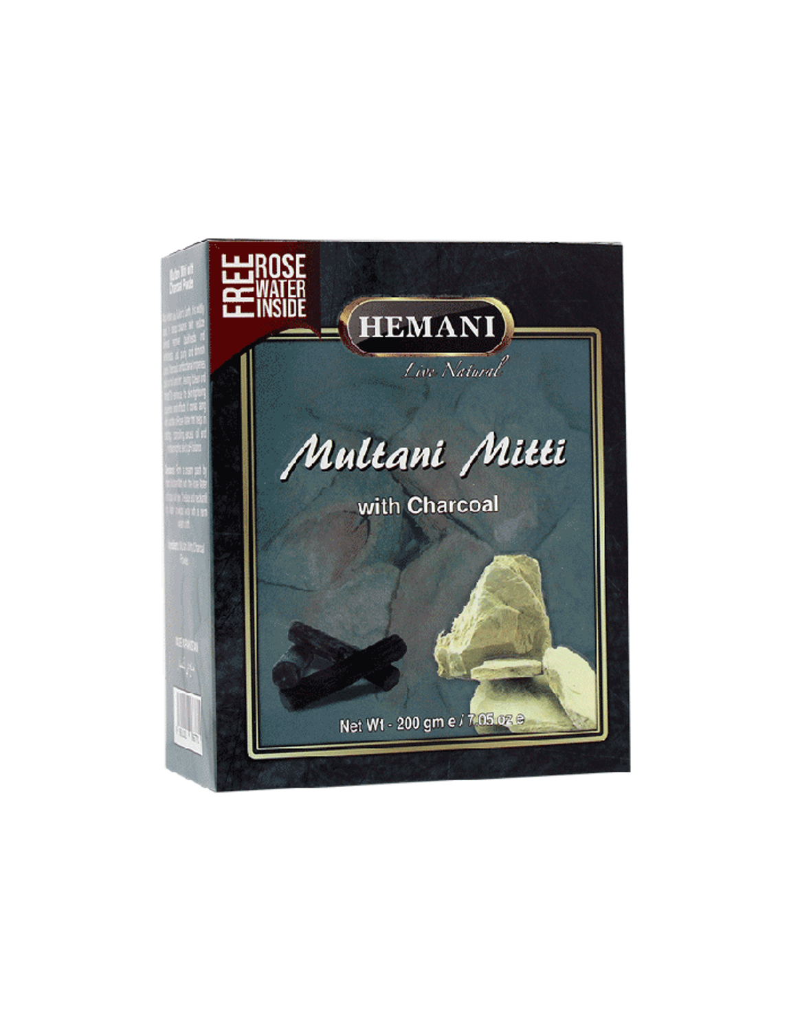 Picture of Multani Mitti with Charcoal Powder