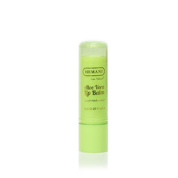Hemani Herbal Lip Balm Natural Aloe Vera
