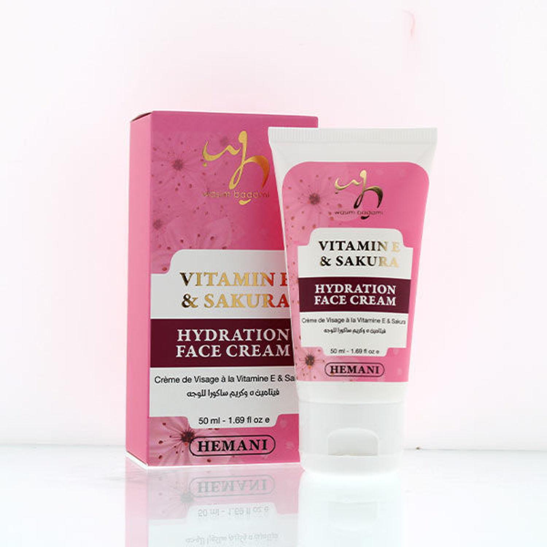 Vitamin E & Sakura Face Cream