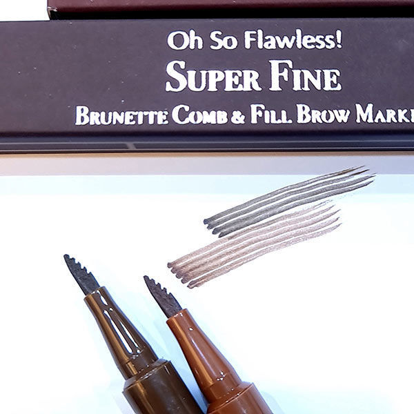 wb by hemani oh so flawless super fine comb and fill brow marker