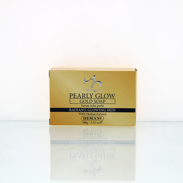 Pearly Glow Gold Soap