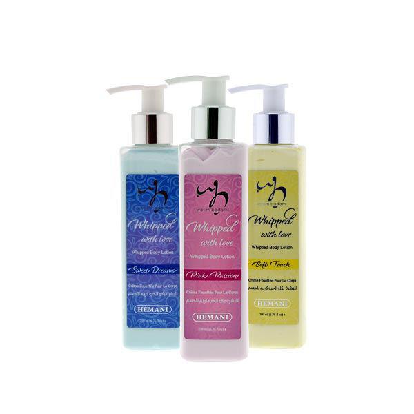 wb by hemani whipped body lotions moisturizing and nourishing