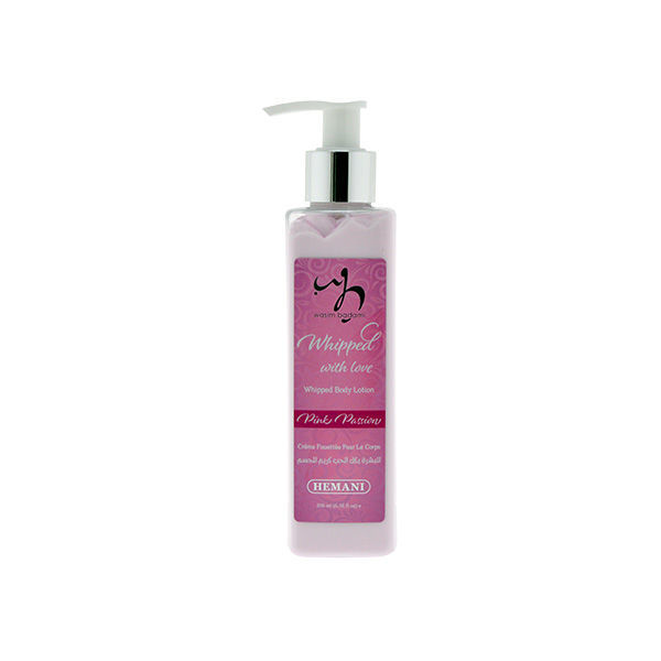 wb by hemani whipped body lotion - pink passion moisturizing and nourishing