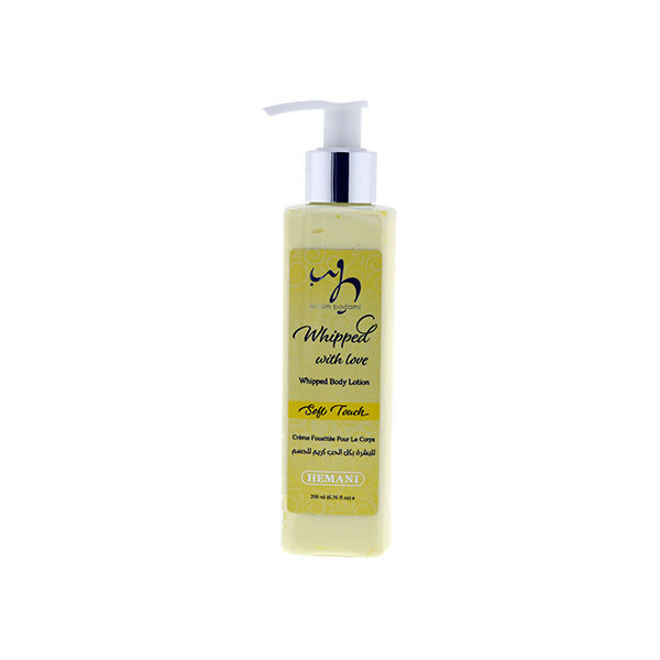 wb by hemani whipped body lotion - soft touch moisturizing and nourishing