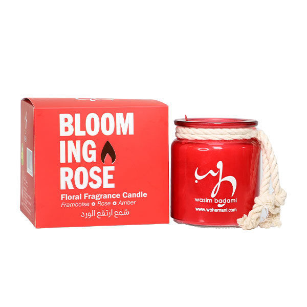 WB by Hemani floral scented candle - Blooming Rose