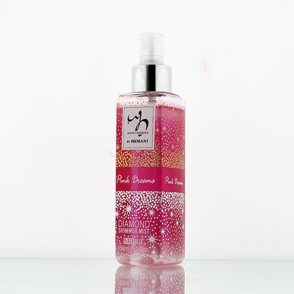 WB by Hemani Pink Dreams Diamond Shimmer Mist