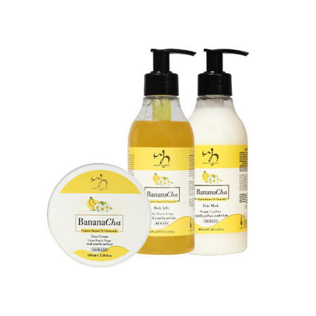 Picture for category Banana & Chamomile Skin & Hair Care Range