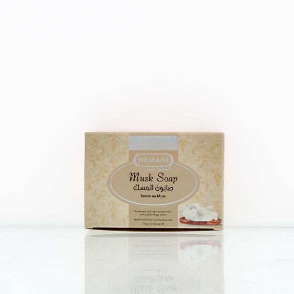 hemani herbal soap 75g musk for rejuvenated and soft supple skin