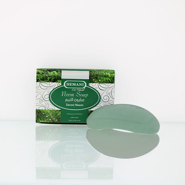 hemani herbal soap 75g neem soap for clear, acne free, blemish less skin