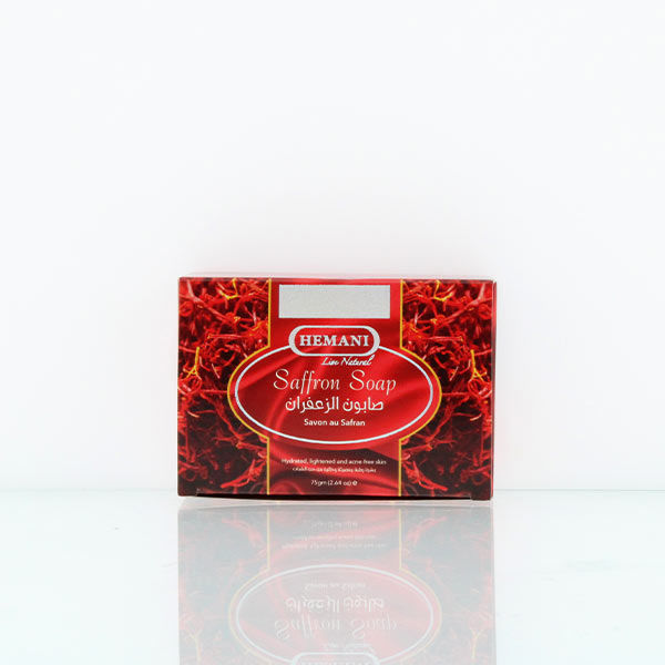hemani herbal soap 75g saffron soap for bright and clear skin for anti aging