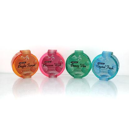 WB by Hemani Loofah Soap - Blossom Wish, Breezy Vibe, Bright Sunset, Crystal Fresh