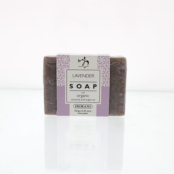 WB by Hemani Herbal Soap with Organic Argan Oil & Organic Coconut Oil - Lavender