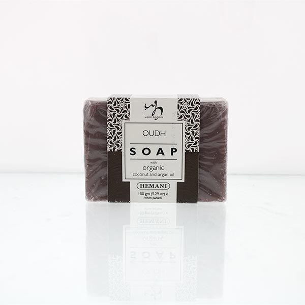 WB by Hemani Herbal Soap with Organic Argan Oil & Organic Coconut Oil - Oud