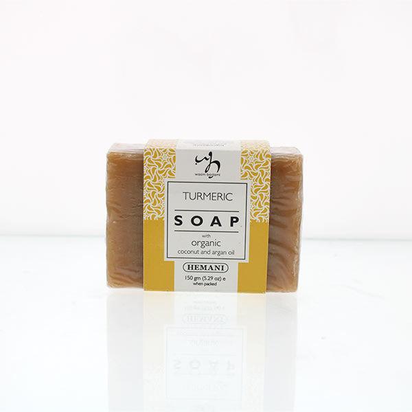 WB by Hemani Herbal Soap with Organic Argan Oil & Organic Coconut Oil - Turmeric