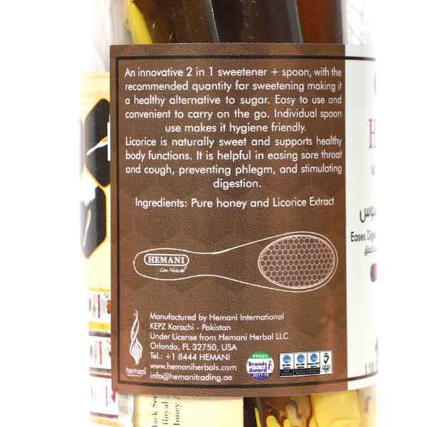 Hemani Herbal Honey Spoon - Licorice