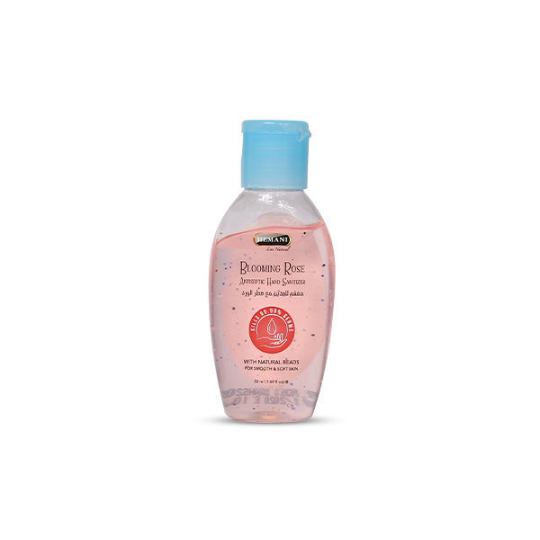 Hemani Herbal Antibacterial Hand Sanitizer in Blooming Rose