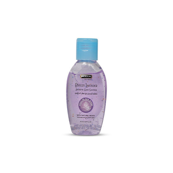 Hemani Herbal Antibacterial Hand Sanitizer in Breezy Lavender