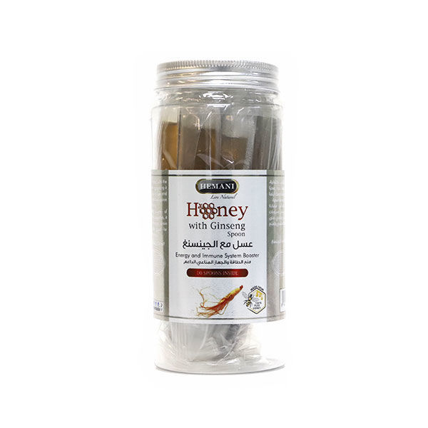 Hemani Honey Spoon - Ginseng - Energy & Immunity Boost