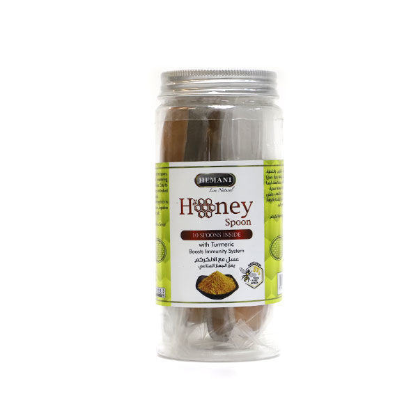 Hemani Honey Spoon - Turmeric - Boosts Immune System