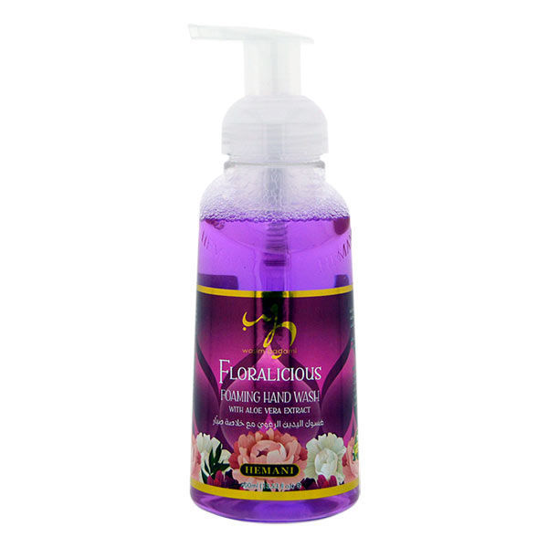 WB by Hemani Foaming Hand Wash Antibacterial With Softening Aloe Vera - Floralicious