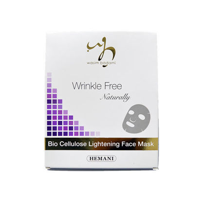 Picture of Wrinkle Free Naturally Bio Cellulose Lightening Face Mask