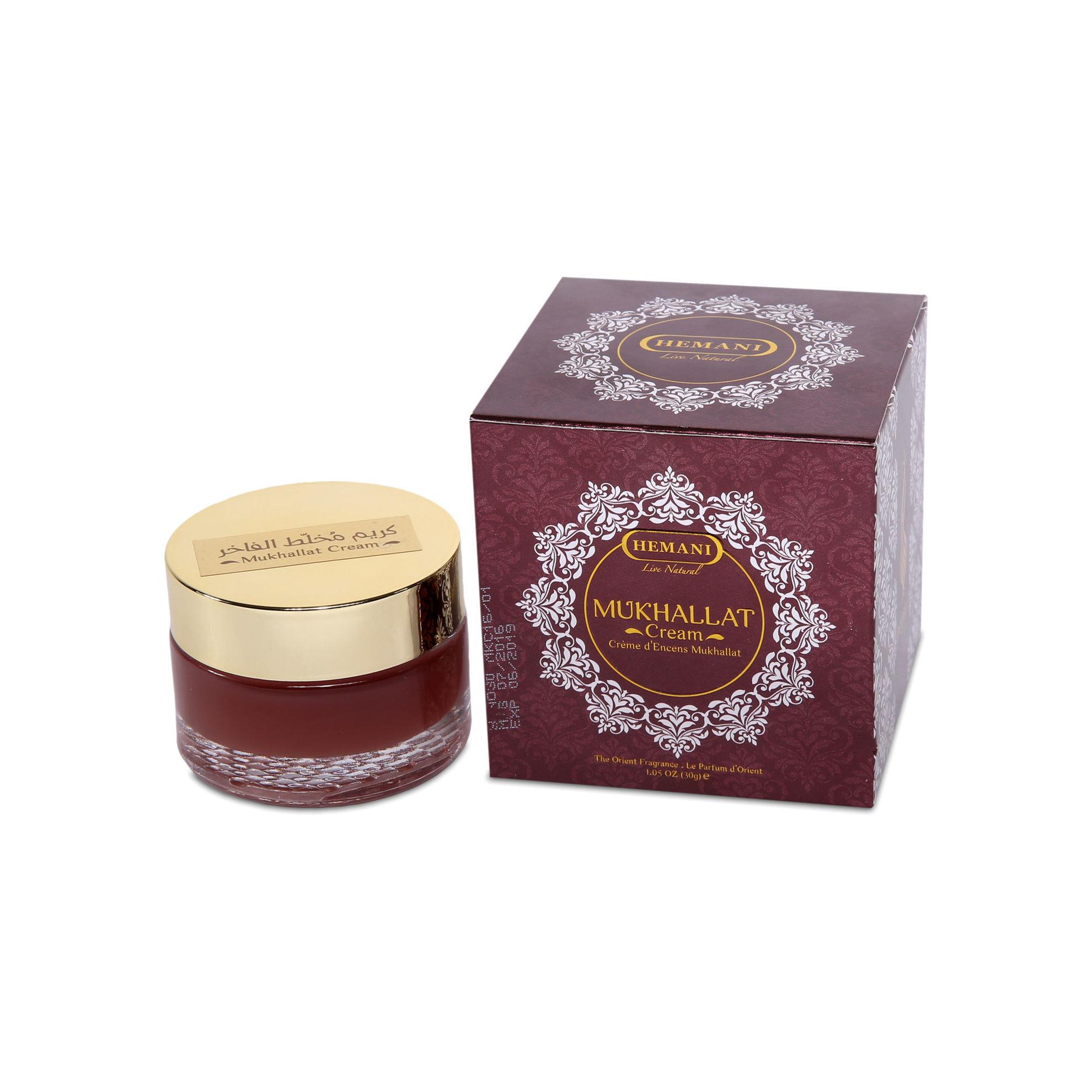 Hemani Mukhallat perfume cream