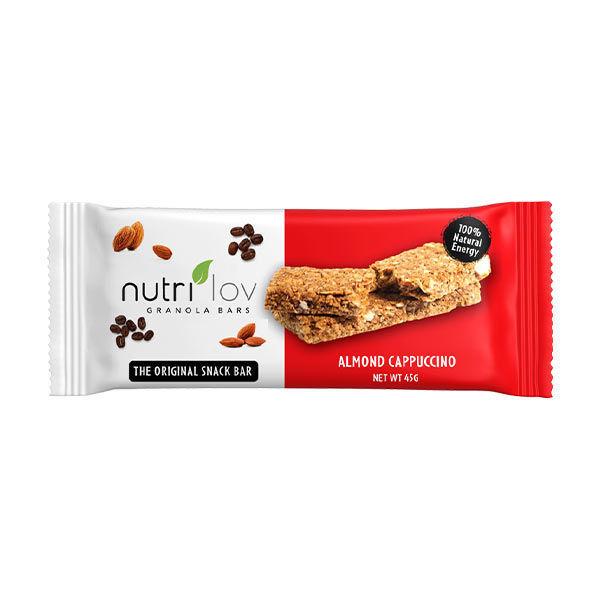 Nutrilov Almond Cappuccino Granola Bar
