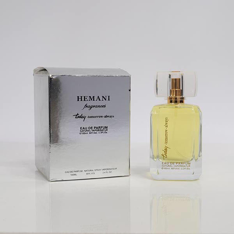 Picture of Hemani Today Tomorrow Always Perfume (Silver) 100ml