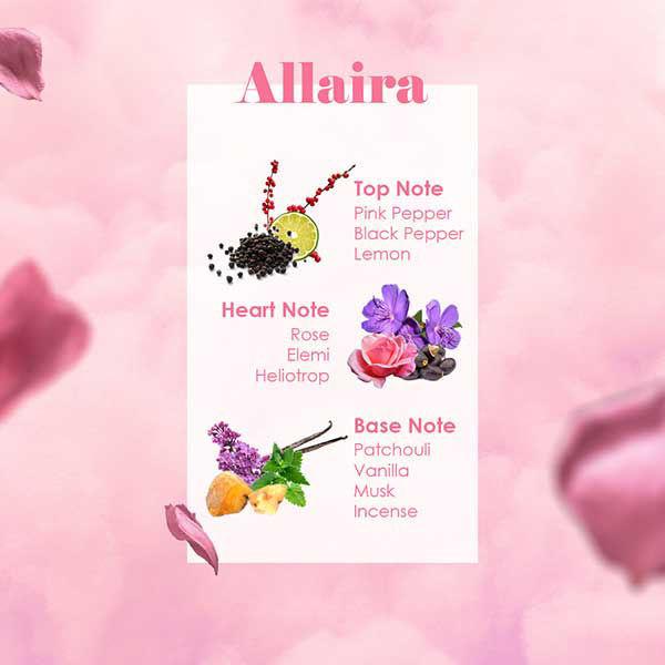 Wb By hemani Allaira Mini Perfume Notes