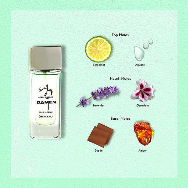 WB by Hemani Damen Mini Perfume for Him