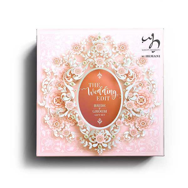 WB by Hemani Gift Set For Bride & Groom - The Wedding Edit