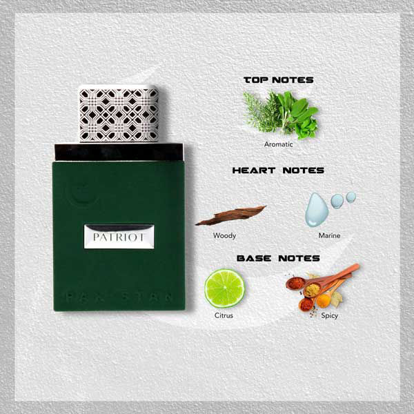 Wb by Hemani Patriot Perfume For Him Notes