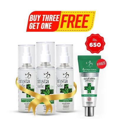 Buy 3 Sanitizer Sprays & Get 1 Sanitizer Tube Free